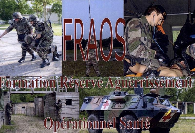 Formation Réserve d'Aguerrisement Opérationnel Santé